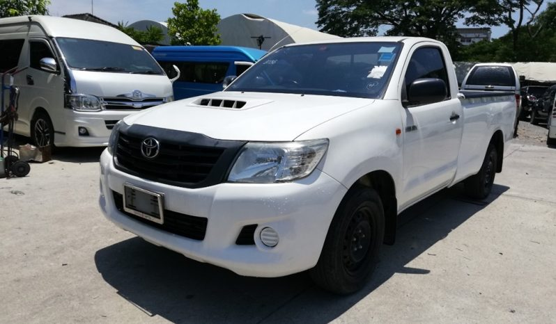 2013 – VIGO 2WD 2.5J MT STANDARD WHITE – 7983 full