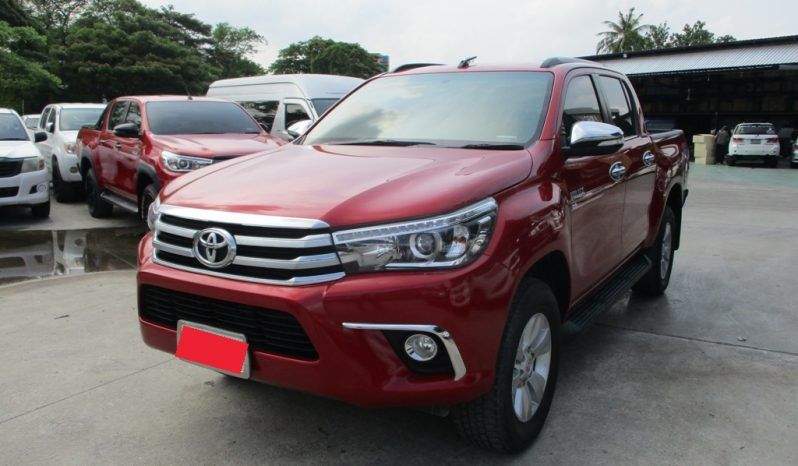 2017 – REVO 4WD 2.8G AT DOUBLE CAB RED – 2318 full