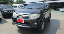 2012 – TOYOTA 2WD 2.7V AT FORTUNER BLACK – 540