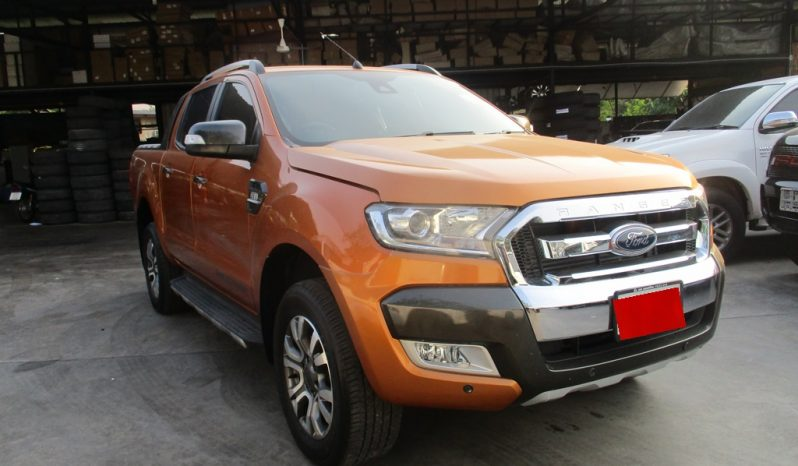 2018 – FORD 4WD 3.2 AT DOUBLE CAB ORANGE – 2636 full