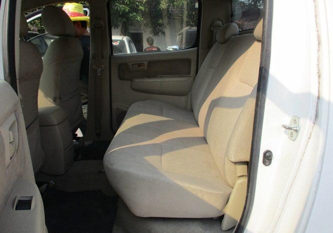 2007 – VIGO 4WD 2.7G AT DOUBLE CAB WHITE – 2538 full