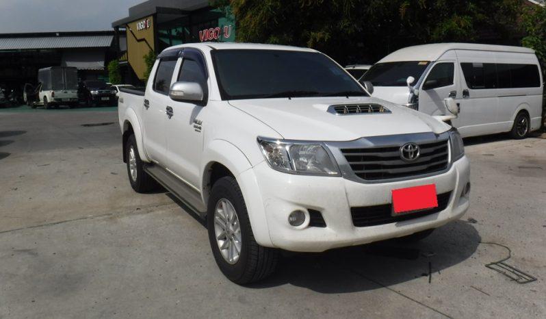 2012 – VIGO 4WD 3.0G AT DOUBLE CAB WHITE – 5381 full