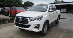 2019 – REVO 4WD 2.8G AT DOUBLE CAB WHITE – 8999