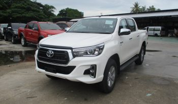 2019 – REVO 4WD 2.8G AT DOUBLE CAB WHITE – 8999 full