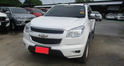 2013 – CHEVROLET 4WD 2.8 AT DOUBLE CAB WHITE – 5553