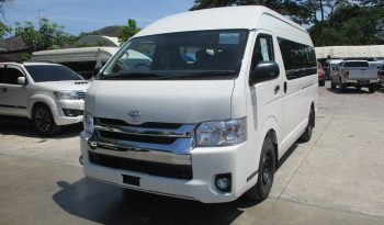 2019 – TOYOTA 2WD 3.0 MT COMMUTER WHITE – 4731