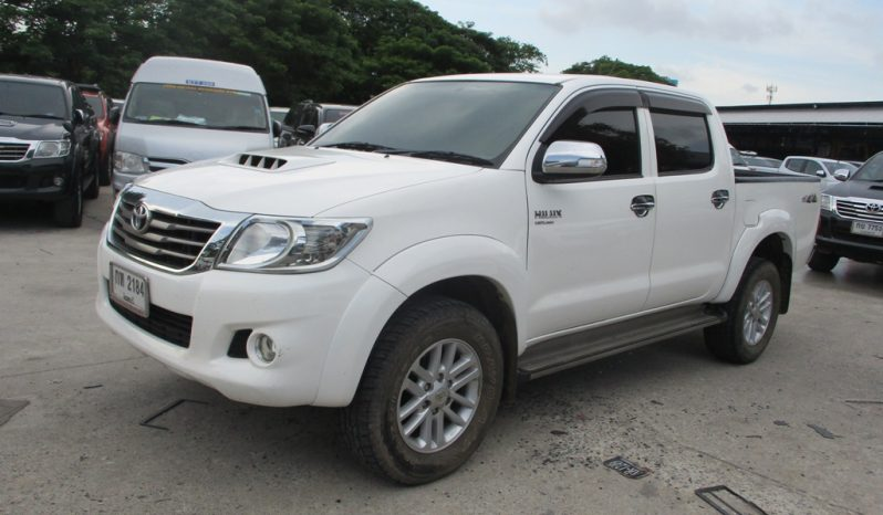 2013 – VIGO 4WD 2.5E MT DOUBLE CAB WHITE – 2184 full