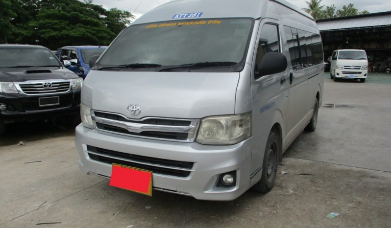 2012 – TOYOTA 2WD 2.5 MT COMMUTER SILVER – 3706 full