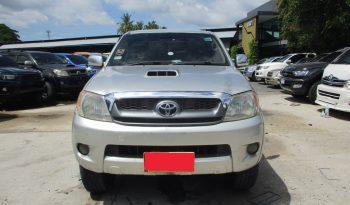 2007 – VIGO 4WD 3.0G MT DOUBLE CAB SILVER – 5919 full