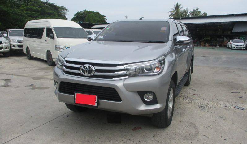 2016 – REVO 4WD 2.8G AT DOUBLE CAB SILVER – 5751 full