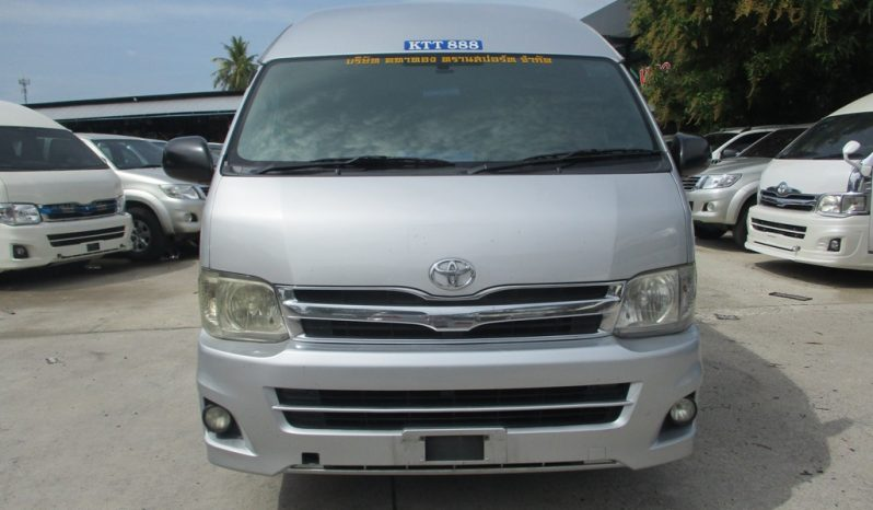 2013 – TOYOTA 2WD 2.5 MT COMMUTER SILVER – 3691 full
