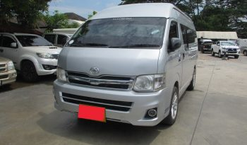 2013 – TOYOTA 2WD 2.5 MT COMMUTER SILVER – 1473 full