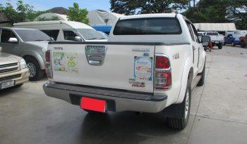 2013 – VIGO 4WD 2.5E MT DOUBLE CAB WHITE – 9305 full