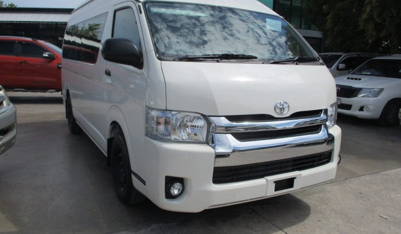 2019 – TOYOTA 2WD 3.0 MT COMMUTER WHITE – 4816 full
