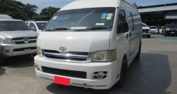 2007 – TOYOTA 2WD 2.5 MT COMMUTER WHITE – 7829