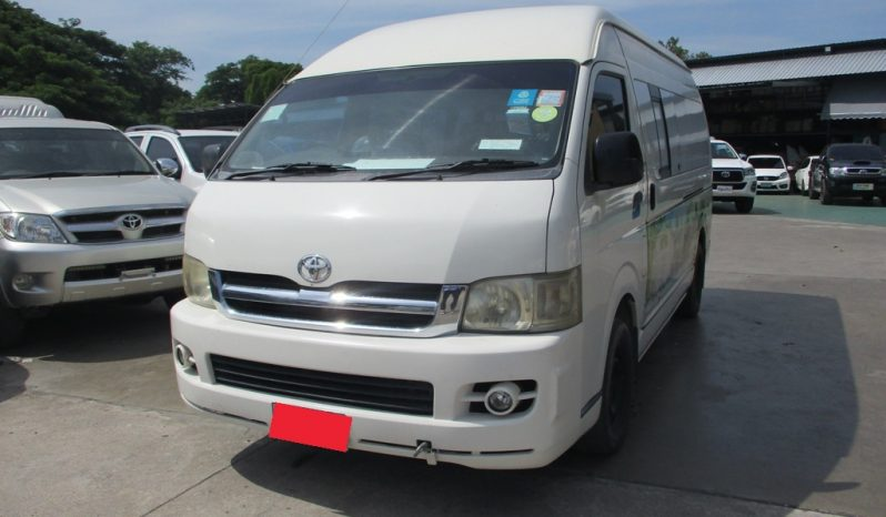 2007 – TOYOTA 2WD 2.5 MT COMMUTER WHITE – 7829 full