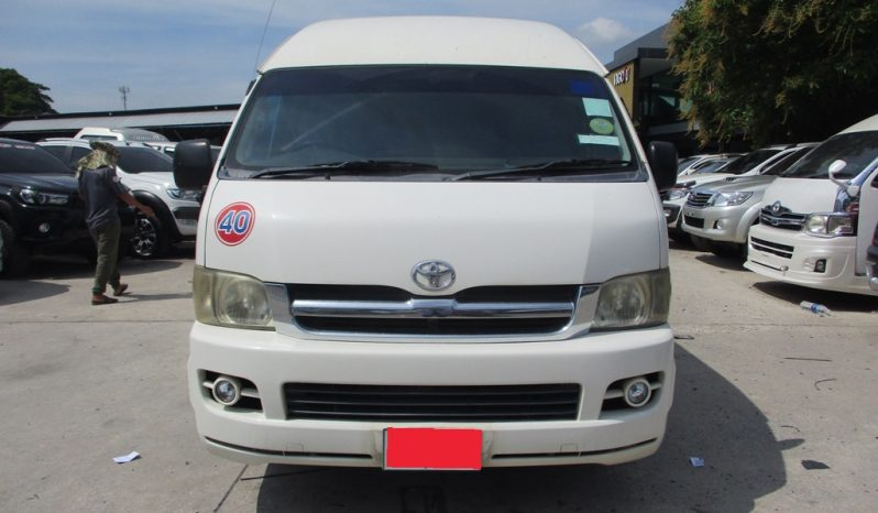 2007 – TOYOTA 2WD 2.5 MT COMMUTER WHITE – 7815 full