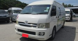 2007 – TOYOTA 2WD 2.5 MT COMMUTER WHITE – 7815